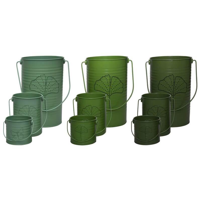 Viharlámpa, 3 db-os szettben, 3 féle zöld színben