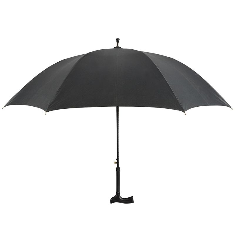 Fekete sétapálcás esernyő
