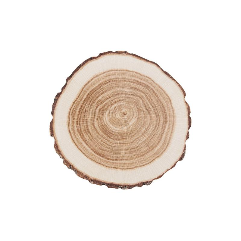 10 db-os farönk formájú poháralátét