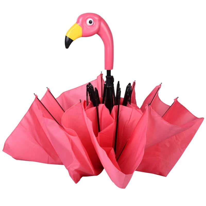 Összecsukható flamingós esernyő