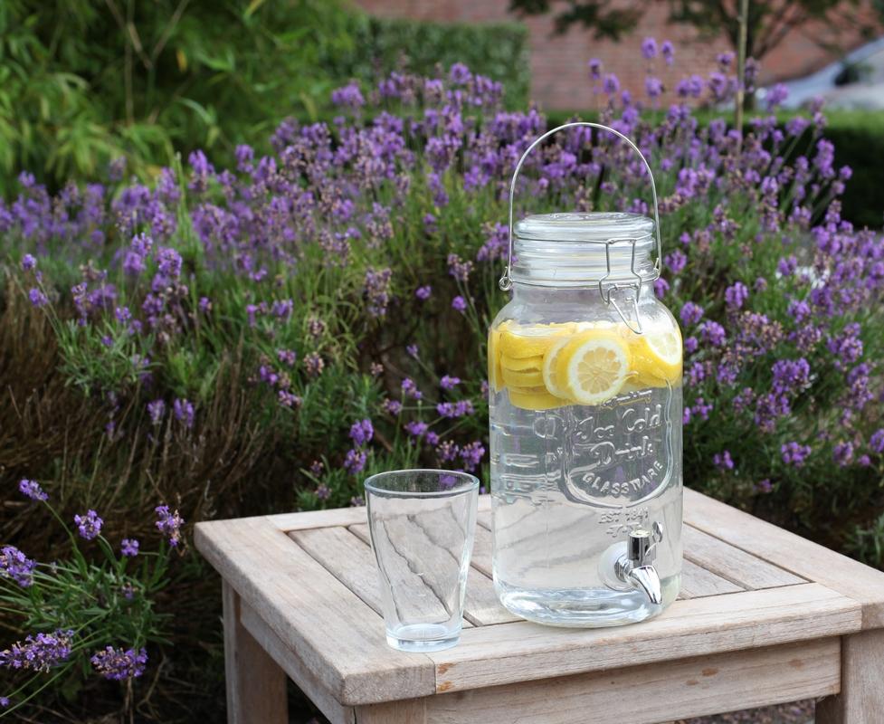 2 db Limonádés üveg 3,5 Literes