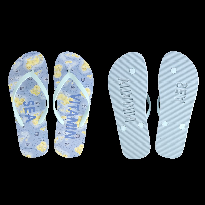 Tengerpart mintás flip-flop, 38