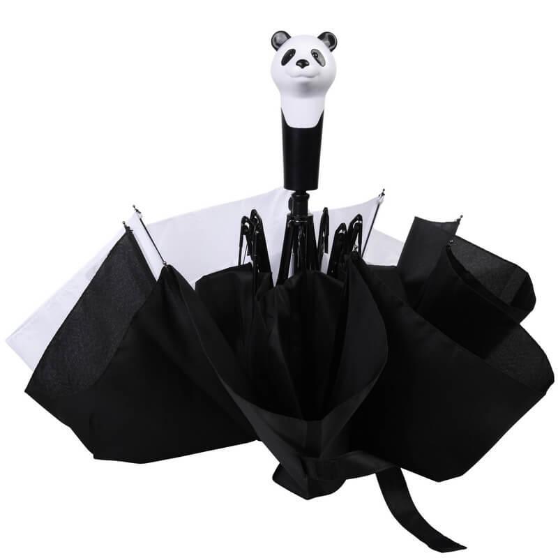 Összecsukható pandás esernyő