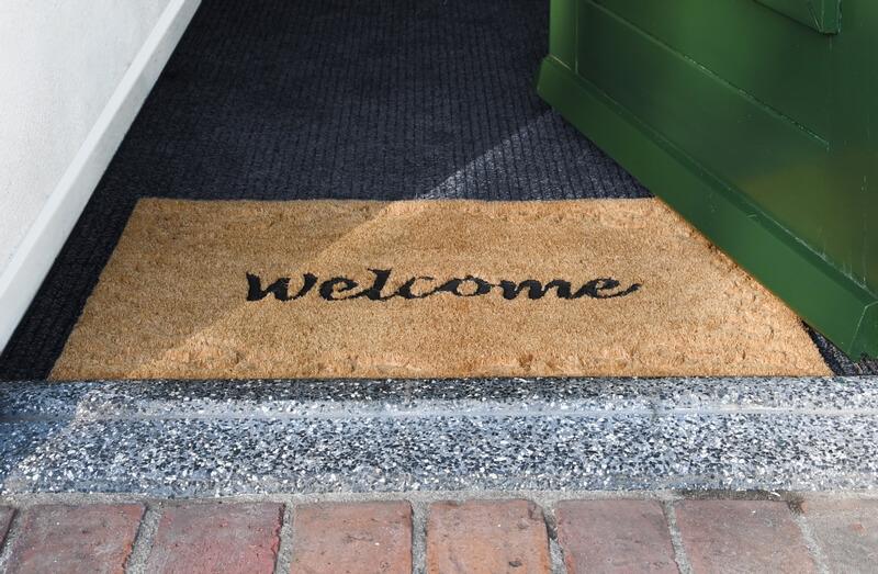 Welcome feliratos lábtörlő 60 x 40 cm