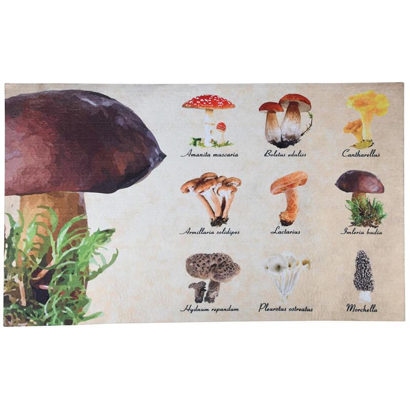 Gombás lábtörlő 75 x 45 cm