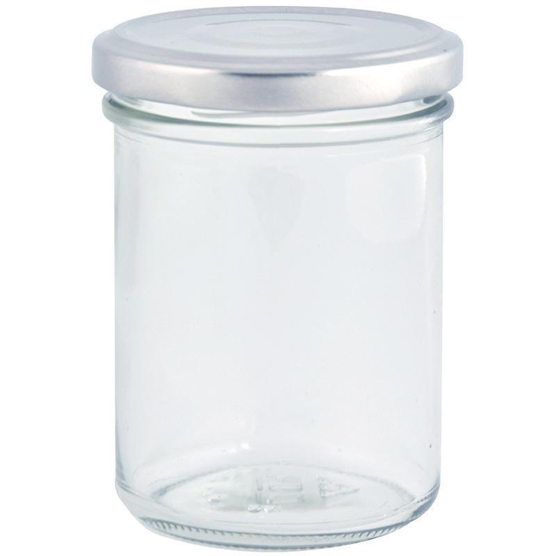 6 db-os befőttes üveg szett