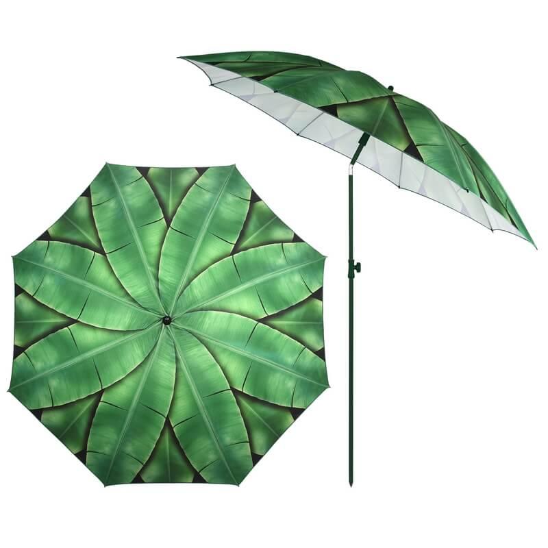 Banánleveles napernyő