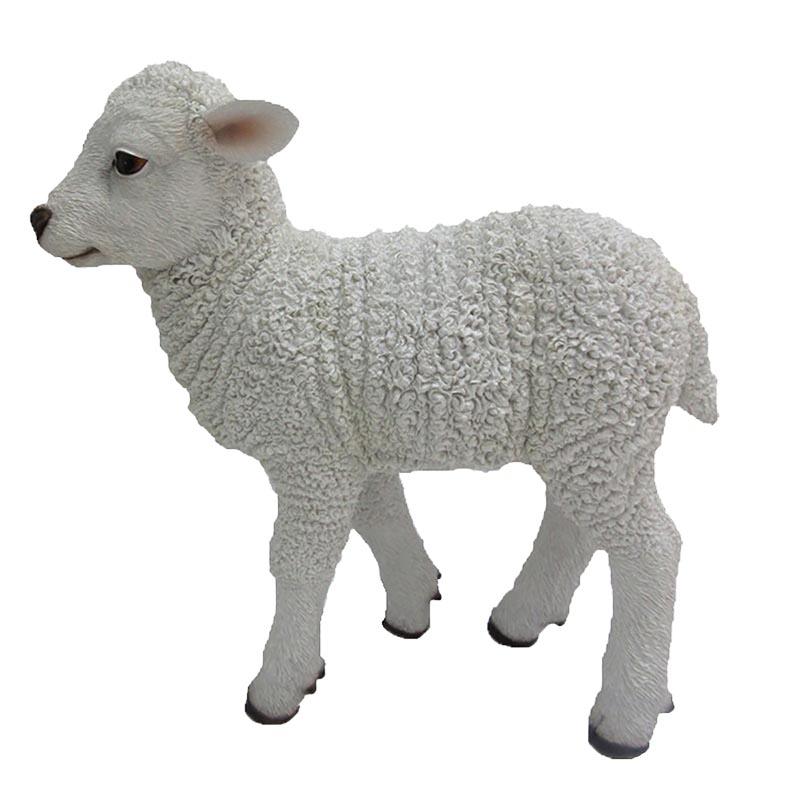 Álló bárány szobor, M