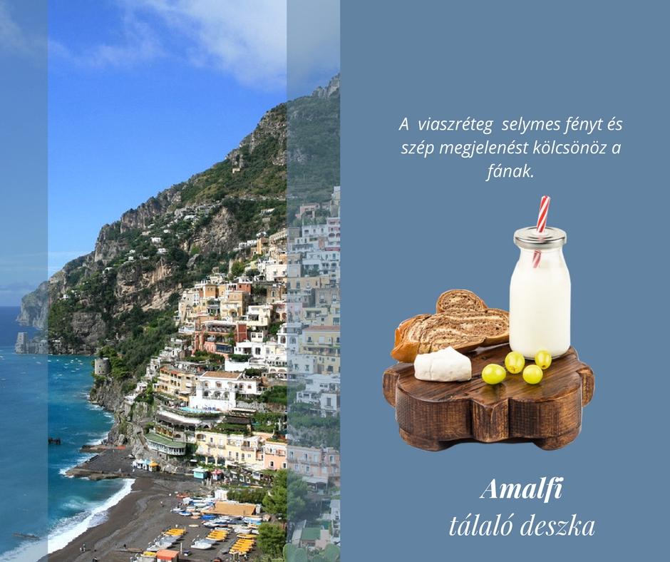 'Amalfi' tálaló deszka