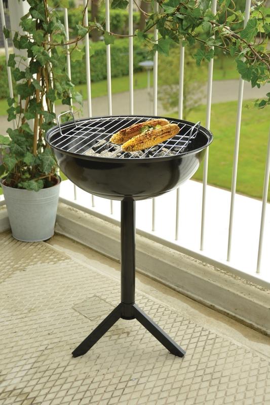 Asztallá alakítható grillsütő, kék
