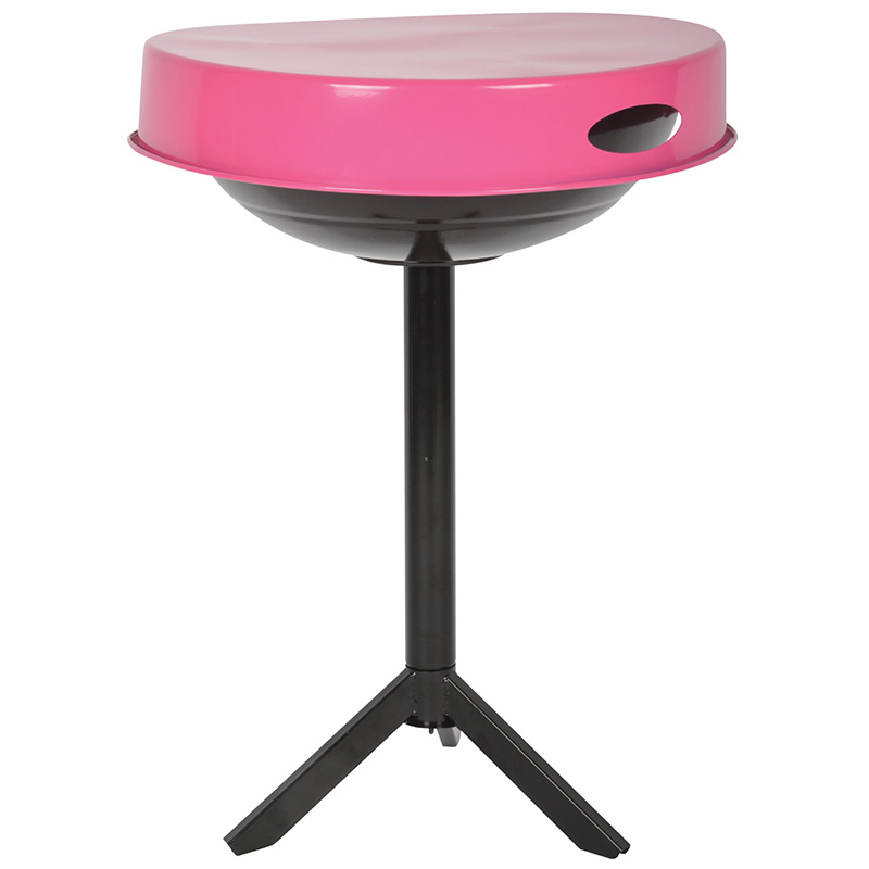 Asztallá alakítható grillsütő, pink