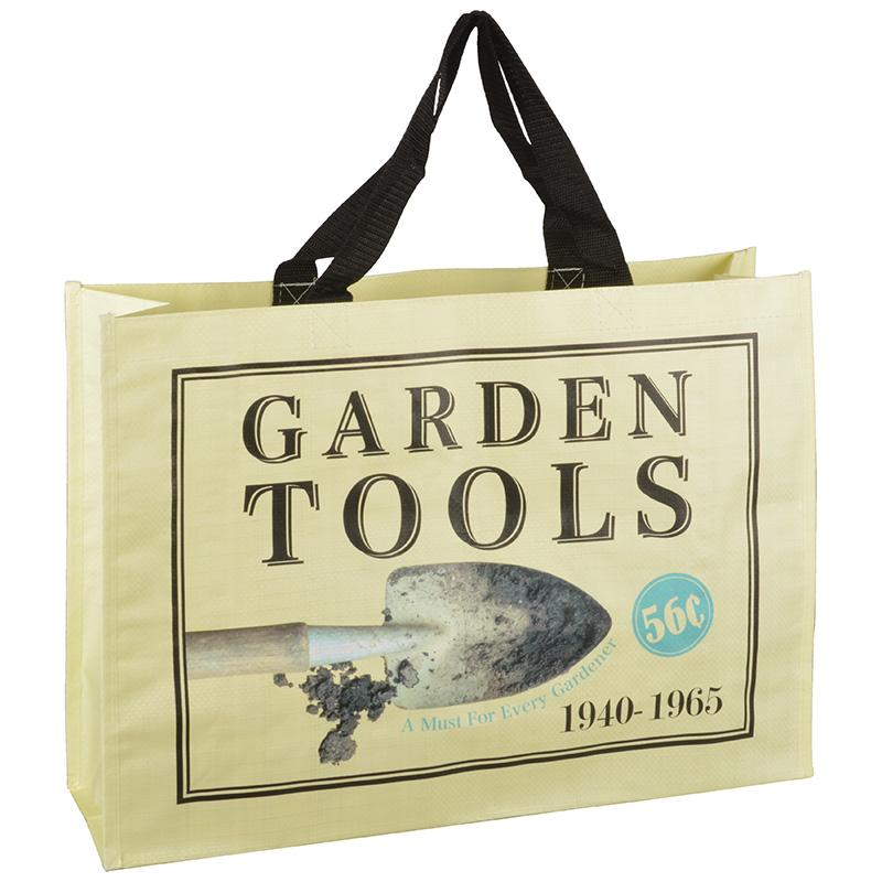 Bevásárló táska - kerti ásó mintával