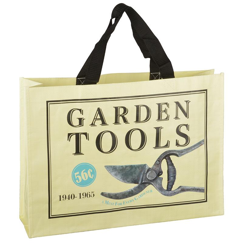 Bevásárló táska - metszőolló mintával