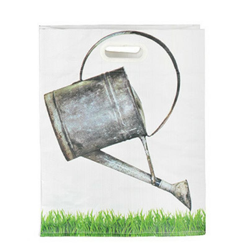 Bevásárló táska, locsolókanna mintával