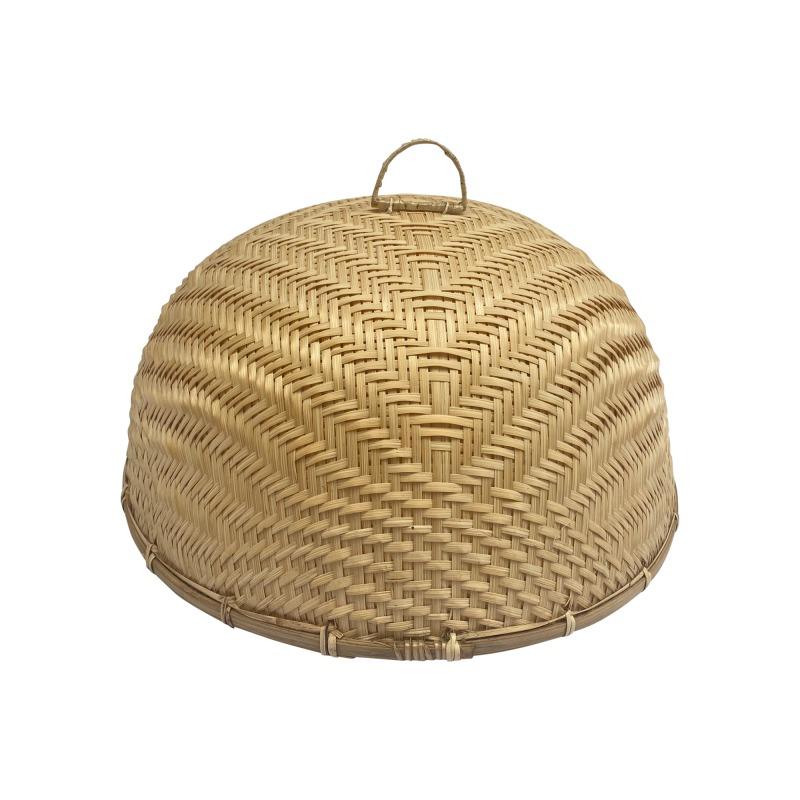 Bambusz ételtakaró búra, 37cm