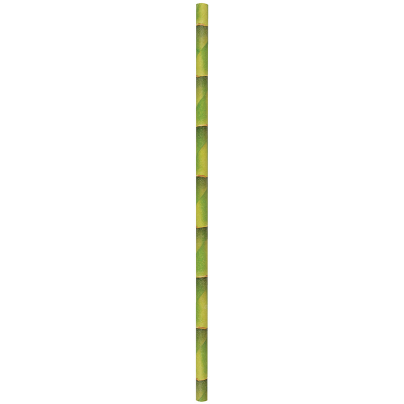 Bambusz mintás szívószál csomag