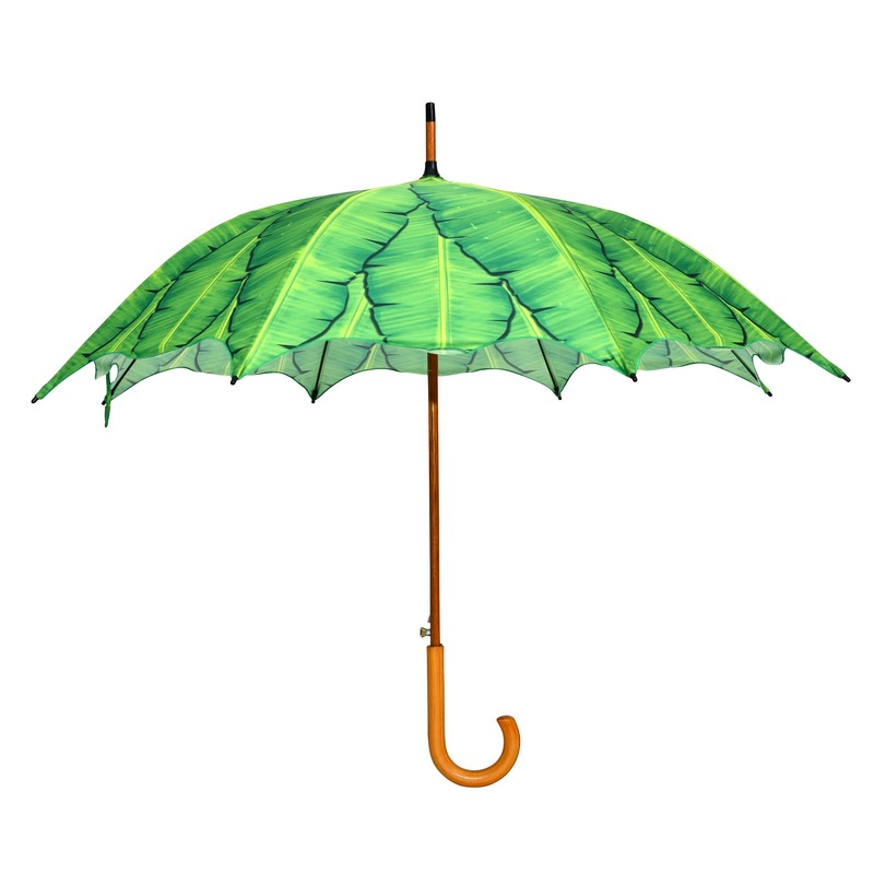 Banánleveles esernyő