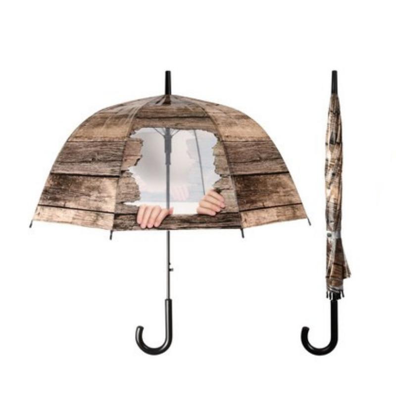 Deszkás kukucskálós esernyő