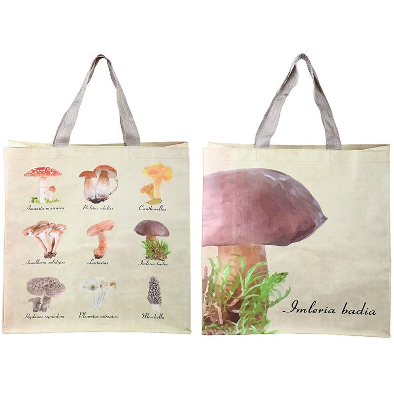 Gomba mintás bevásárló táska