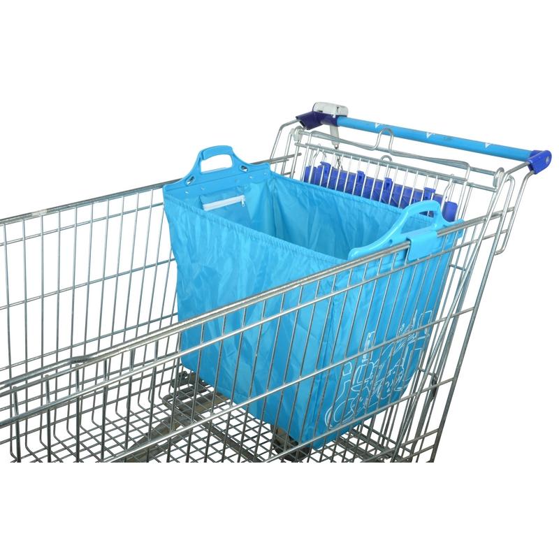 Bevásárlókocsira akasztható bevásárlótáska