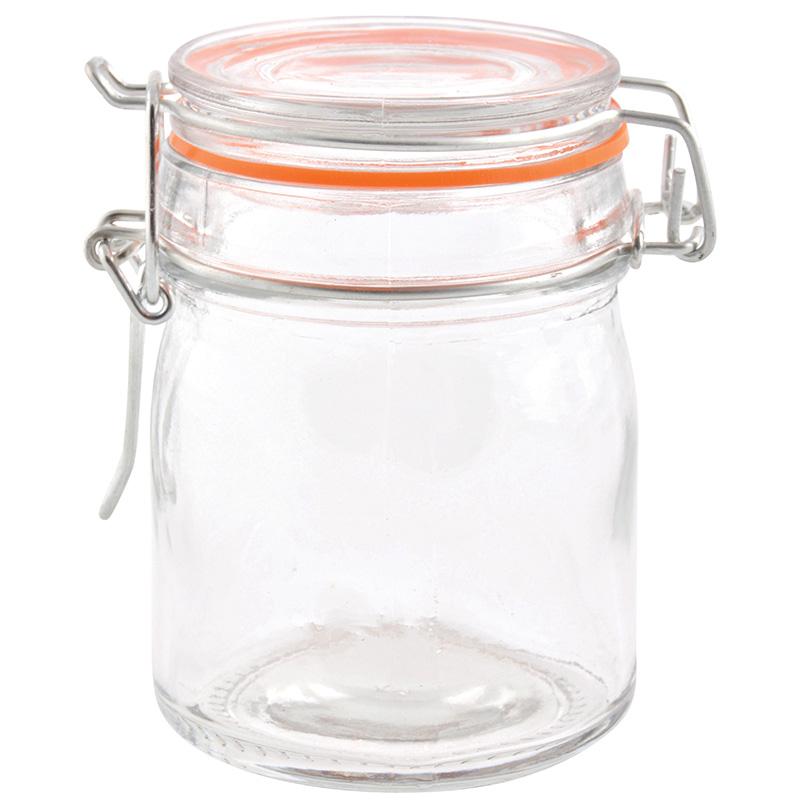 Csatos tároló üveg 8 db-os szett