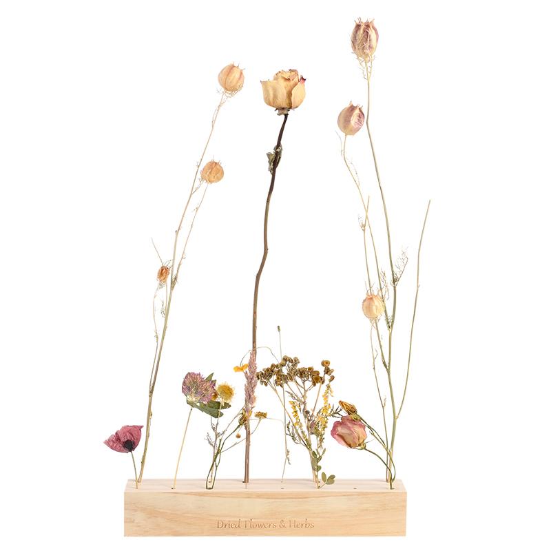 Dekorációs fa tartó szárított virágoknak, L