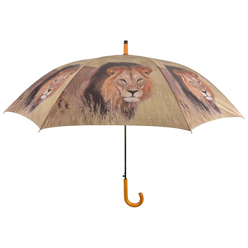 Oroszlános esernyő