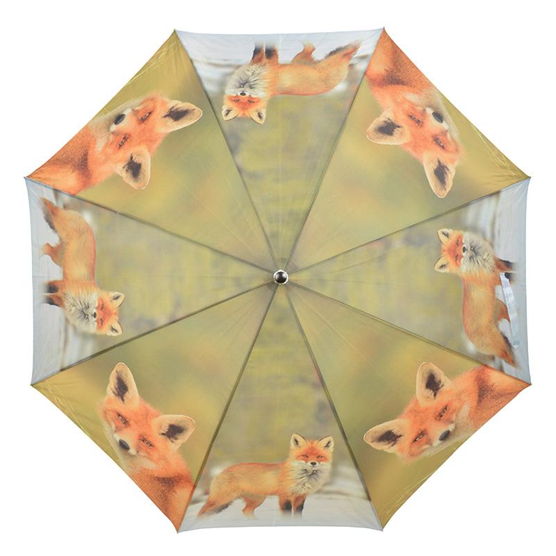 Rókás esernyő