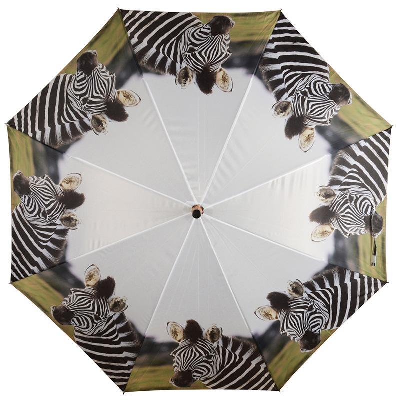 Zebrás esernyő