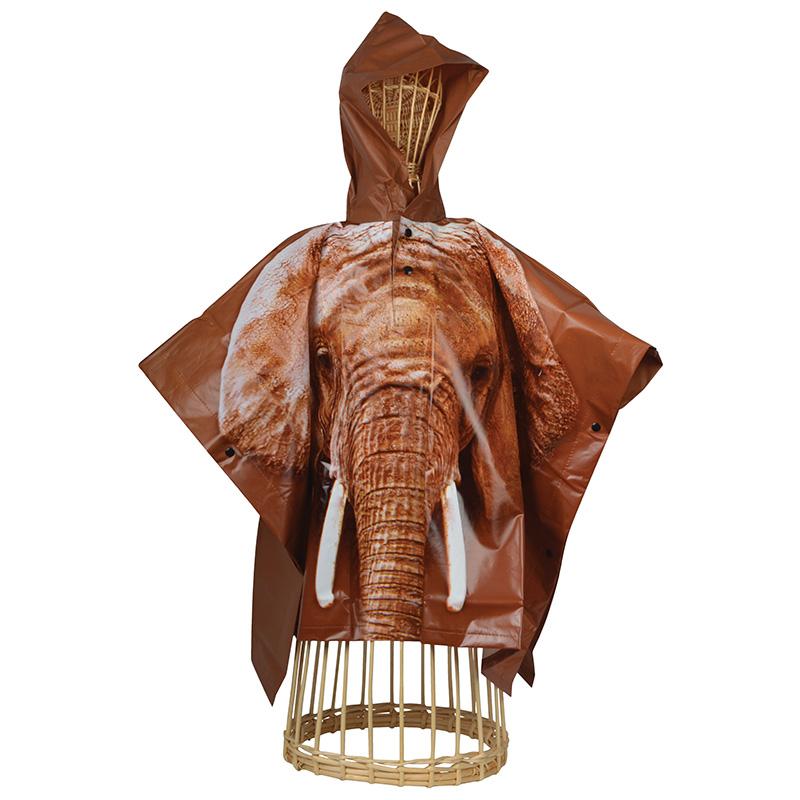 Elefántos gyerek esőkabát