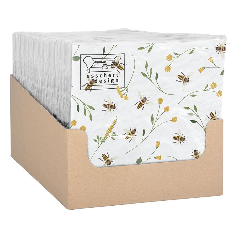 Méhecske mintás szalvéta