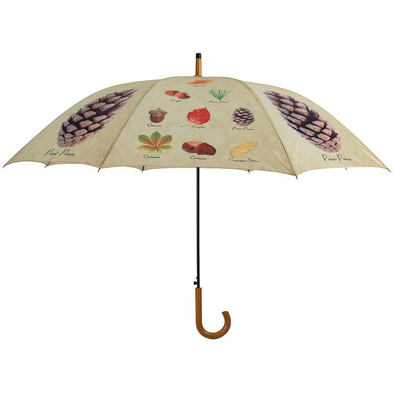 Erdei termés mintás esernyő