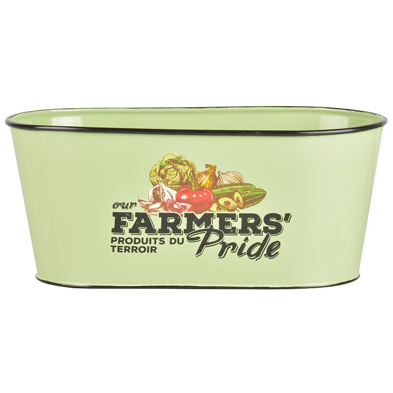 Farmers` pride ovális virágcserép