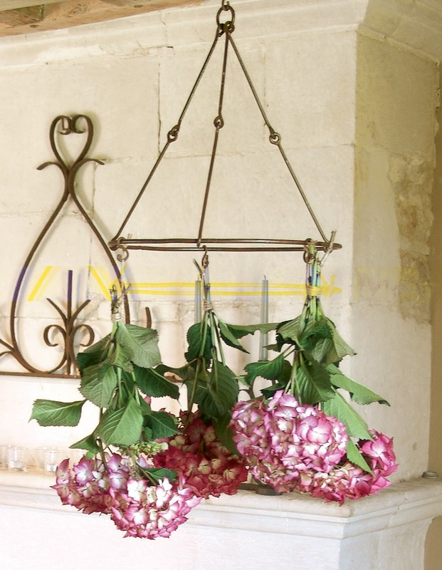 Fűszernövény és virágszárító akasztó