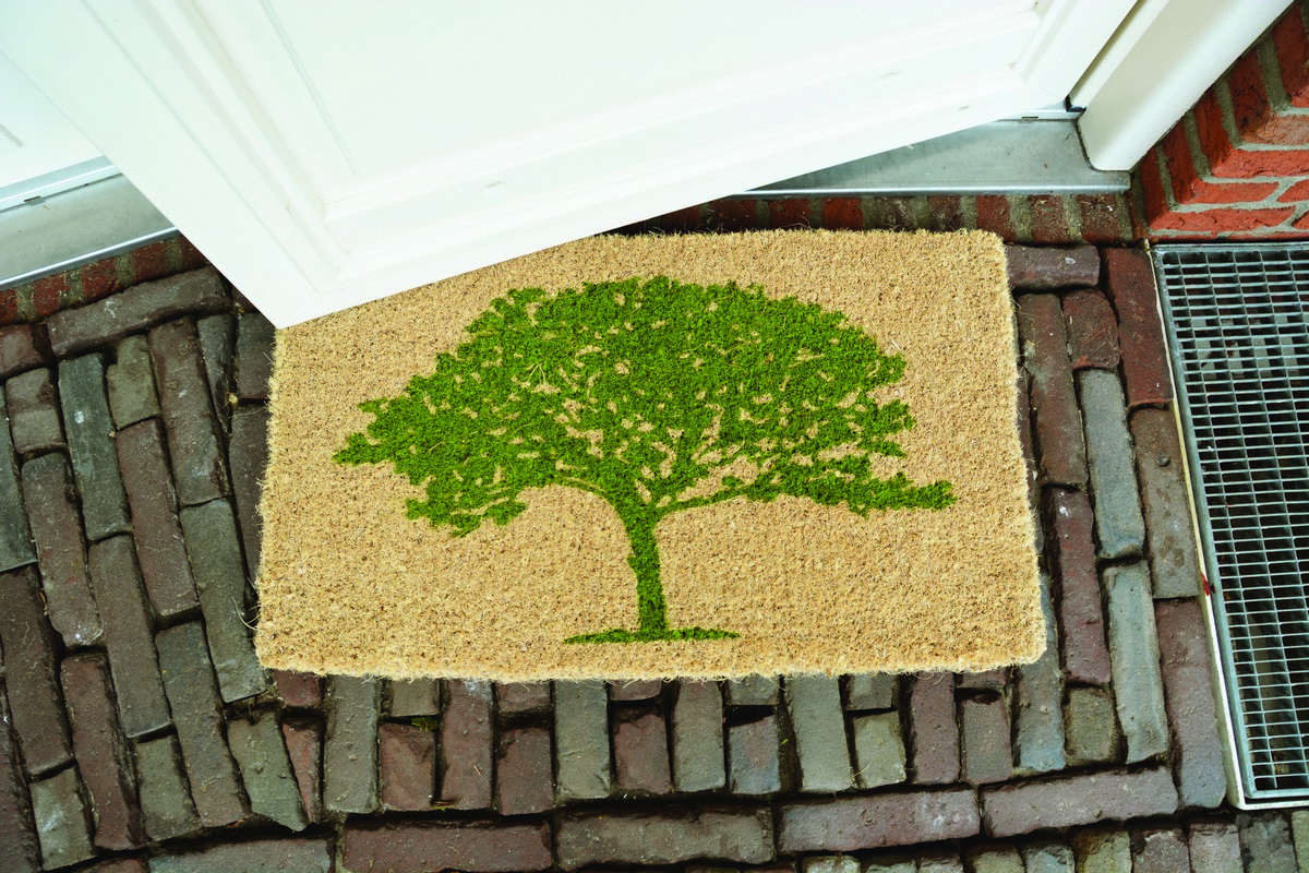 Fa mintás lábtörlő 75 X 45 cm