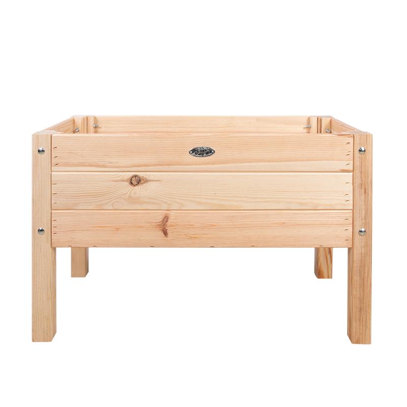 Fából készült magaságyás gyerekeknek, 78 x 40 cm