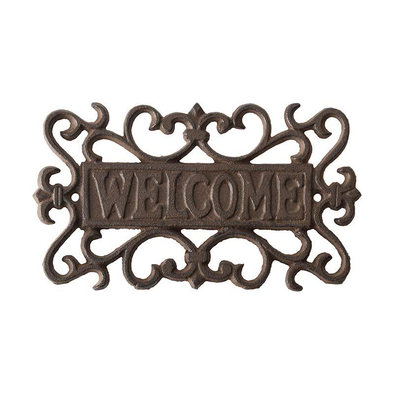 Fali tábla Welcome felirattal