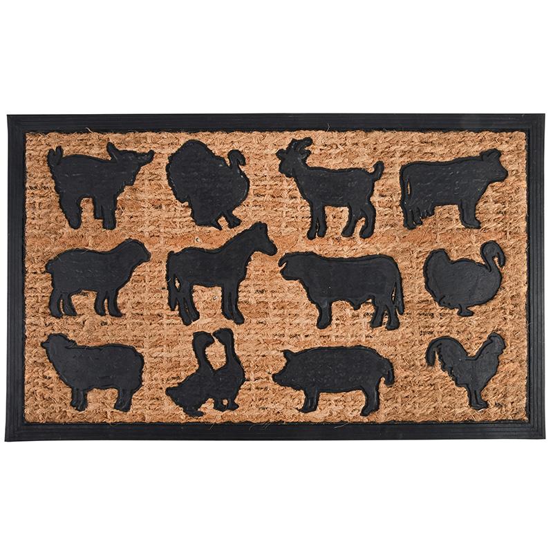 Farm állatos lábtörlő 75 X 45 cm