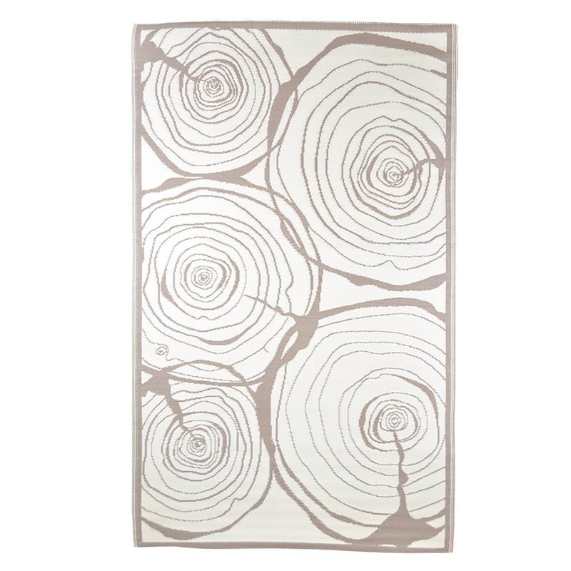 Fatörzs mintás, téglalap alakú, kétoldalú kültéri szőnyeg