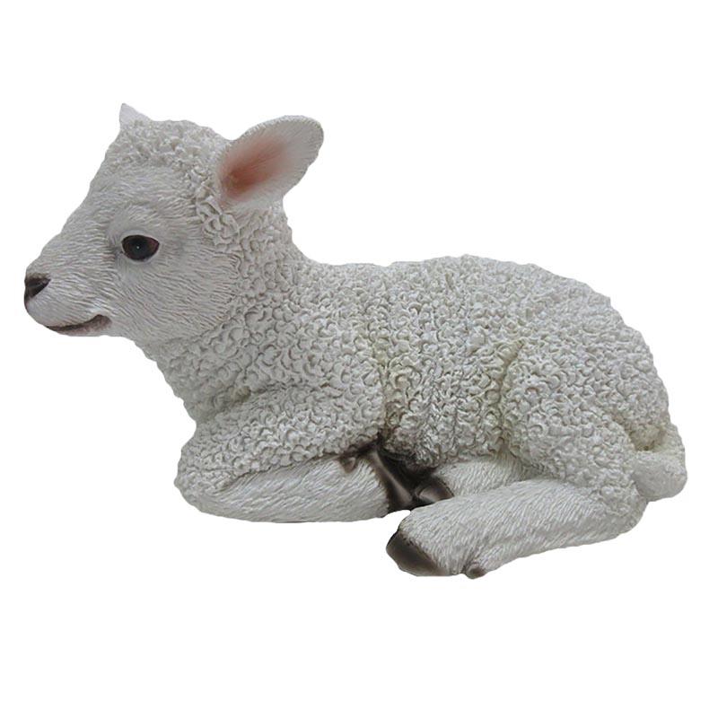 Fekvő bárány szobor, S