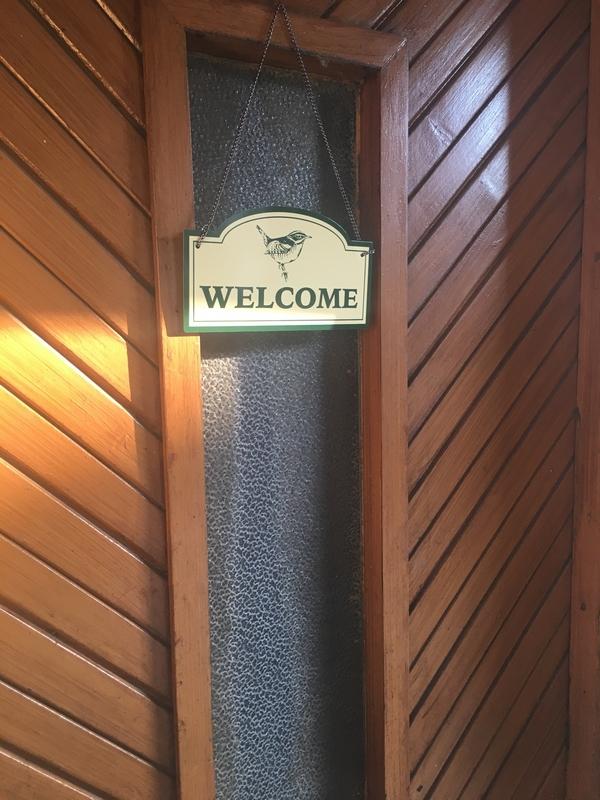Felakasztható tábla WELCOME felirattal