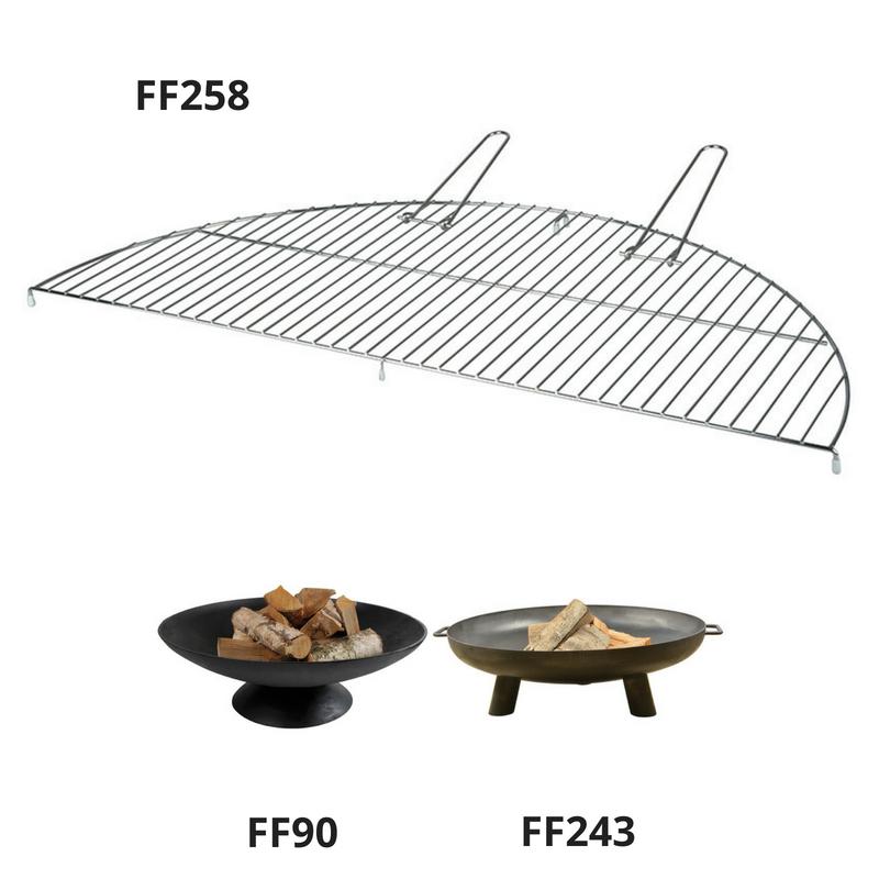 Félkör alakú grillrács - XL
