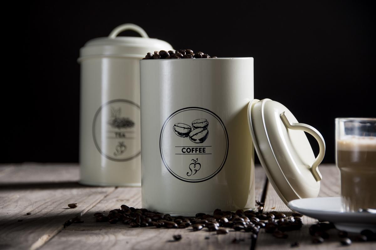 Fém kávétartó