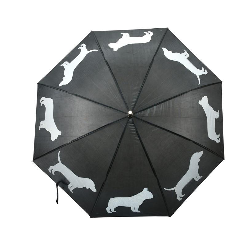 Fényvisszaverő kutyás esernyő