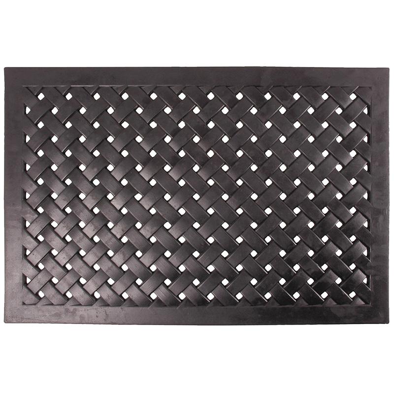 Fonott, gumi lábtörlő 76 x 46 cm