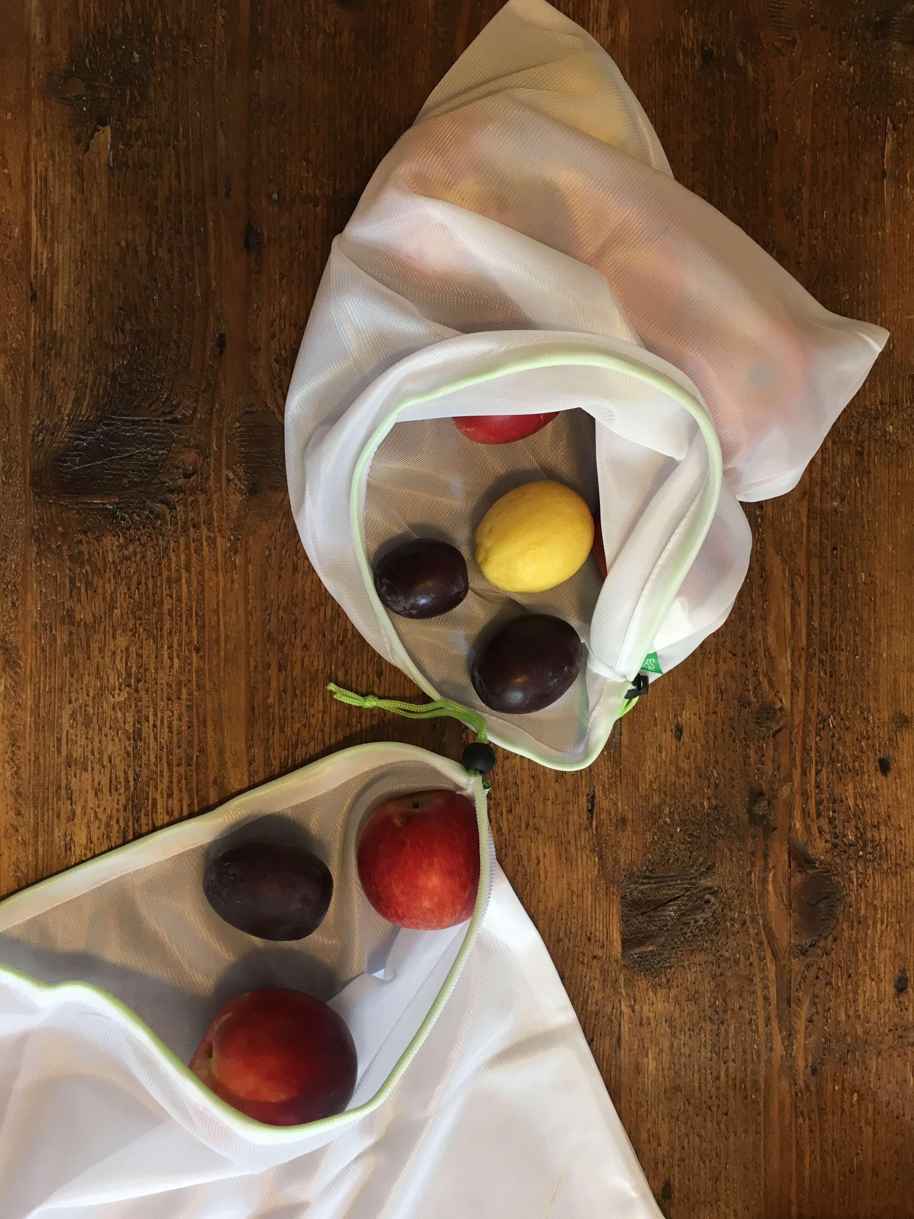 Frissentartó zöldség-gyümölcs tasak