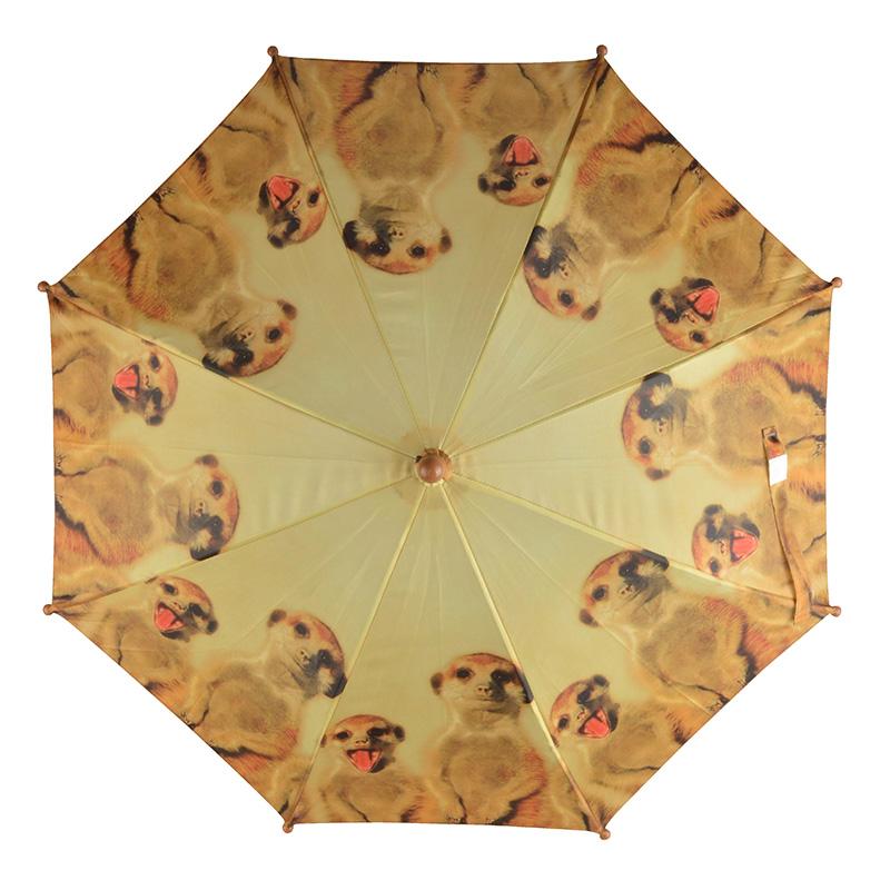 Szurikátás gyerek esernyő