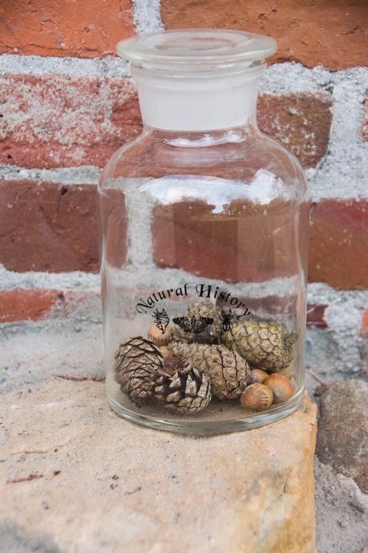 Gyógyszertári üveg, 250 ml