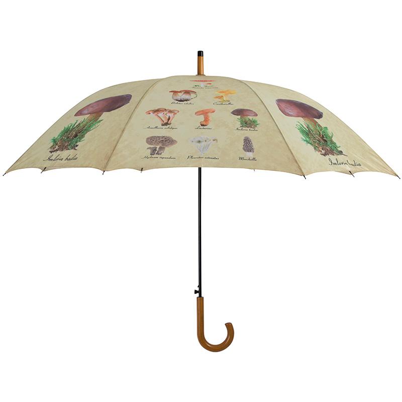 Gomba mintás esernyő