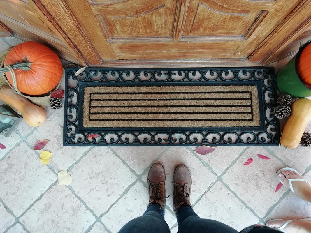 Gumi-kókusz lábtörlő 120 X 45 cm